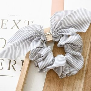 Accessories - Scrunchies Bowknots Ponytail Holder Striped Hair